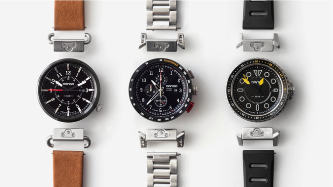 Dango Modular – Watches with Quick Release Lugs & Straps