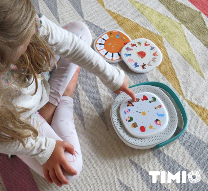 TIMIO – Educational audio toy & music player for children