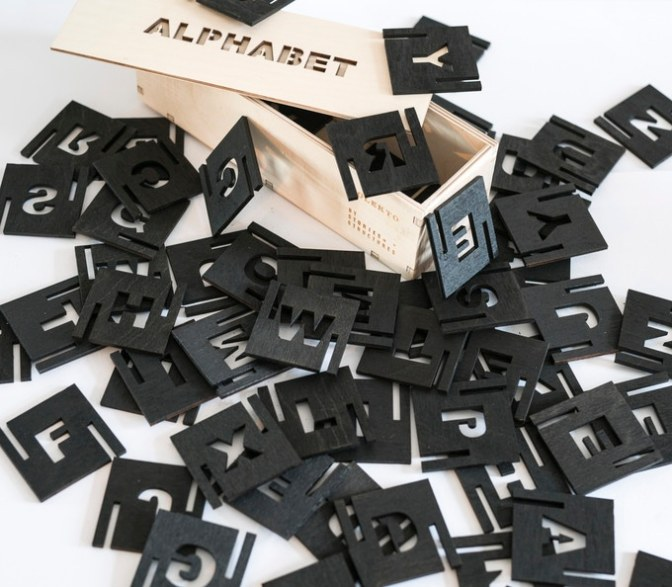 ALPHABET – Play & build with letters