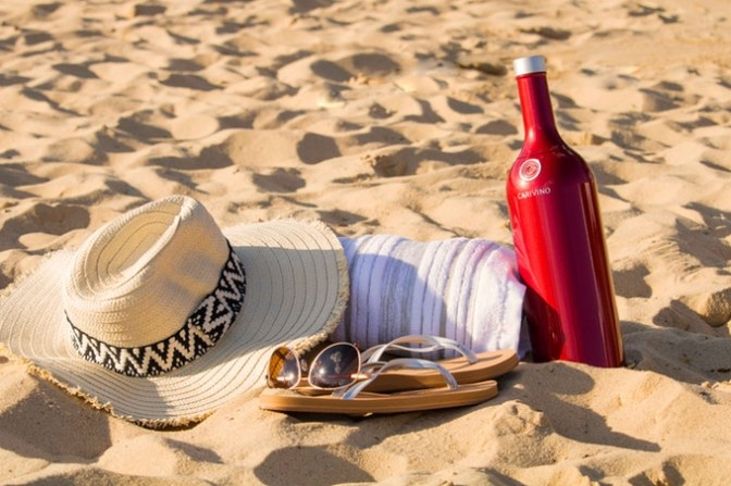 CARIVINO – The Only Insulated Wine Bottle With Glasses Inside