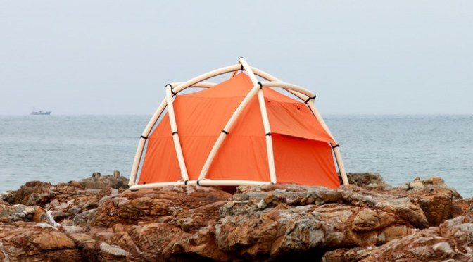 TentTube – Inflatable Tent that can be Pitched in One Minute
