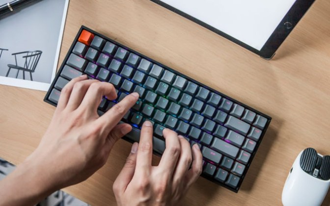 Keychron K2 – A Sleek, Compact Wireless Mechanical Keyboard