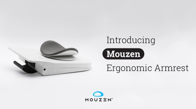 Mouzen™ – World's Most Beautiful Ergonomic Armrest