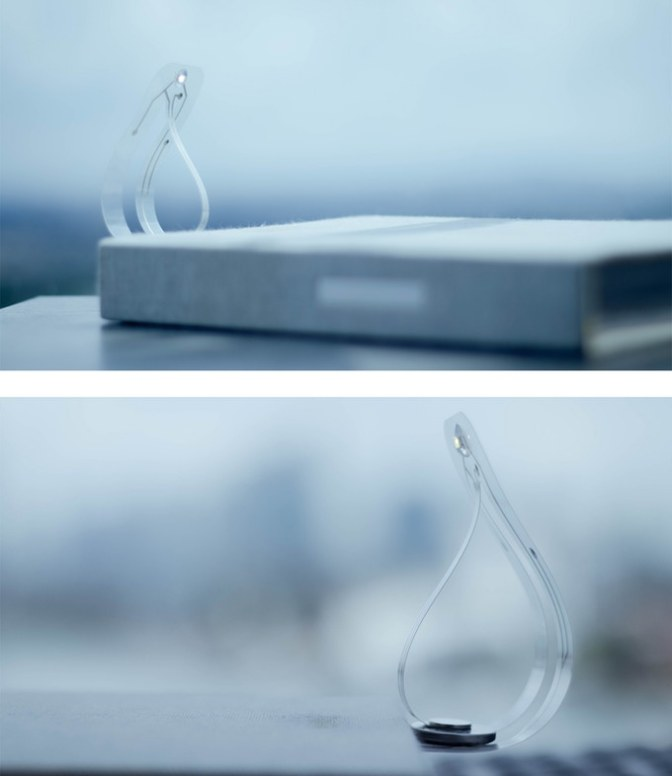 BIÖLITE – World's Thinnest Reading Light.