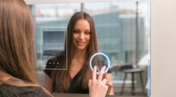 Ayi – AI Powered Smart Mirror for your home