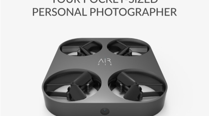 AIR PIX – Pocket-Sized Aerial Photographer