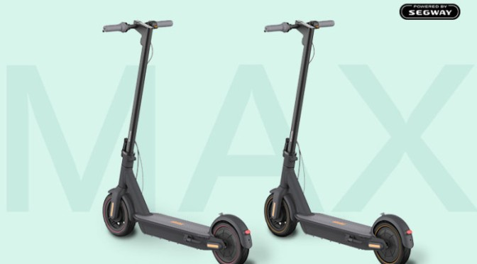 Ninebot MAX – Ultimate Electric Scooter