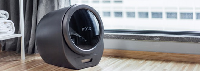 Morus Zero – Ultrafast countertop tumble dryer